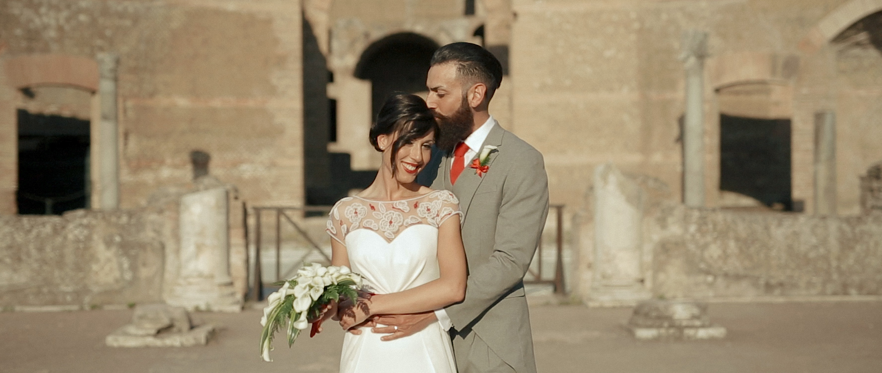 Intimate wedding video in rome 9