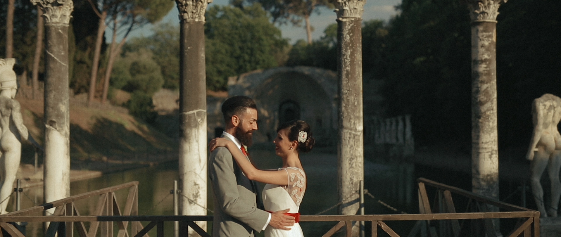 Intimate wedding video in rome 10