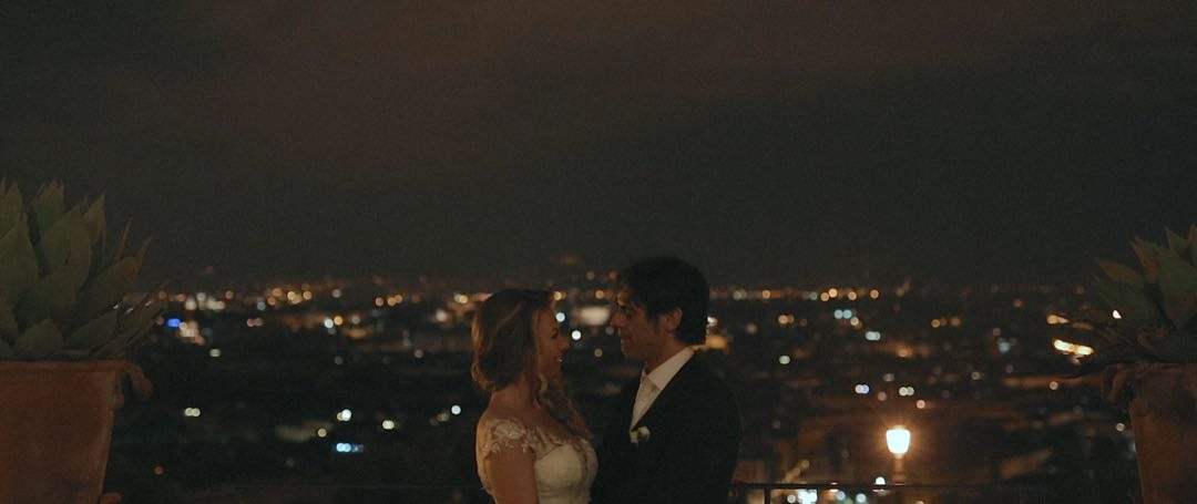 A poetic wedding video