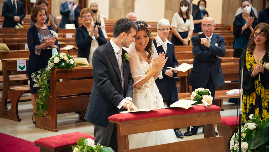 La cerimonia del matrimonio in chiesa