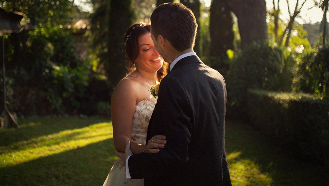 Foto ritratti di sposi